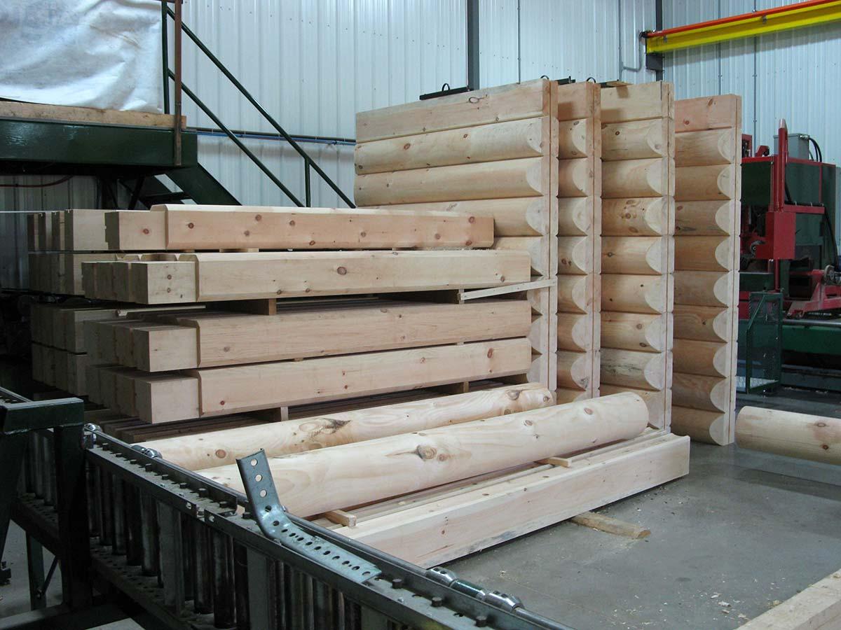 Technique de fabrication Prestige Bois Rond # Technique Construction Bois